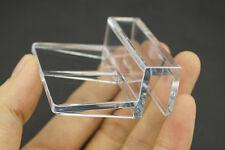 2Pcs 10mm Aquarium Tank Clear plexiglass Clips Glass Cover Strong Support Holder