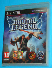Brutal Legend - Sony Playstation 3 PS3 - PAL New Nuovo Sealed