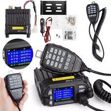 QYT KT-8900D Dual Band Quad Standby 5Tone 25W VHF UHF Car/Truck Ham Mobile Radio