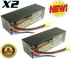 Powerhobby 4S 14.8V 5200mAh 50C Lipo Battery Hard Case 4-Cell w XT90 Plug (2)
