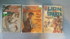 3 Comic Lot Lion of Sparta, Jack the Giant-Killer, The Buccaneers #800