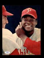 Richie Dick Allen PSA DNA Coa Signed 8x10 Vintage Phillies Photo Autograph