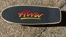 Tony Alva Tri-Logo Skateboard Deck