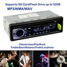 Car Stereo Receiver Radio Wireless In Dash 1 Single Din MP3 USB AUX FM Player