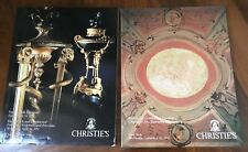CHRISTIE'S 2 Cataloghi Asta N. YORK : French Continental Furniture ,Tapestries..