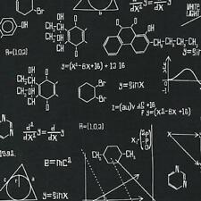Science Fair S.t.e.a.m. s.t.e.m. Robert Kaufman Cotton Quilt Fabric AIB 2 Black