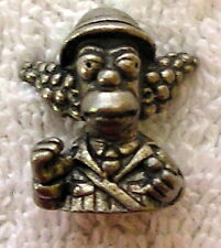 Clue The Simpsons Detective Game pewter part pieces replacement Krusty The Clown