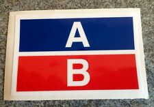MILITARY ARMY LAND ROVER 'A B' WADER STICKER WOLF 90 110 DEFENDER