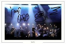 SIGUR ROS FULL GROUP SIGNED PHOTO PRINT AUTOGRAPH TAKK VALTARI KVEIKUR