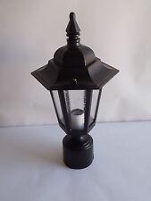 """Melissa K1630 Outdoor Post Lamp 19"""" Black 120v"""