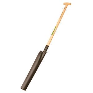 Freund-Victoria - Drainagespaten 58 cm mit Tritt - Drainage Spaten