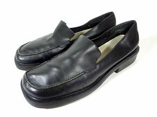 Dockers Womens 9.5 M Shoes Loafers Moccasin Black Leather