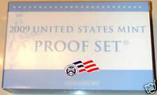 2009 S PROOF SET (P09) EIGHTEEN(18) COINS, OGP -BOX&COA