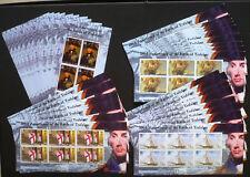 10 x  Gibraltar 2005 Kleinbogen ** MNH Trafalgar Schiffe Ships Mi. 700,-- €