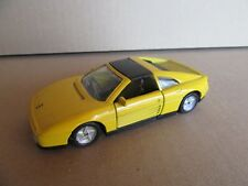 778G Maisto Shell Ferrari 348TS Jaune 1:38