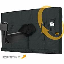 Outdoor Tv Cover 65 Inch Led Flatscreen With Bottom Weatherproof And Dust-Proof