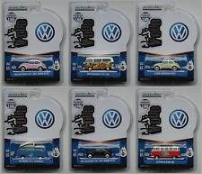 Greenlight - 6 VW-Modelle Käfer, Brezelkäfer, T1, T2 Neu/OVP Limited Edition