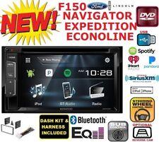 F150 NAVIGATOR EXPEDITION ECONOLINE VAN Car Stereo Radio Bluetooth BT Double Din