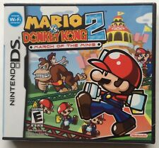 Mario vs. Donkey Kong 2 March Of The Minis (Nintendo DS, 2006) Brand New Sealed