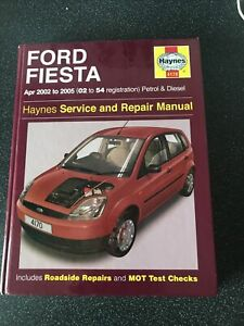 Ford Fiesta Service and Repair Manual by Haynes Publishing Group (Paperback,...