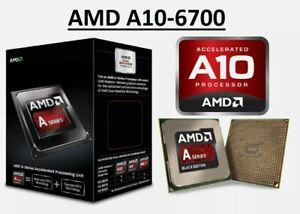 AMD A10-6700 FM2 Quad Core CPU, 65w 4.3Ghz boost Radeon HD8670D *Warranty*