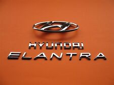 07 08 09 10 HYUNDAI ELANTRA REAR TRUNK LID EMBLEM LOGO BADGE SIGN SYMBOL SET #14