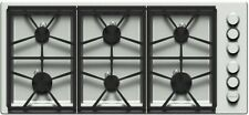 "Dacor Heritage Professional 46"" Stainless Steel Gas Pro Cooktop - Hpct466Gs/Ng"