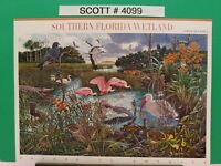 Scott # 4099-Nature of America-Southern Florida Wetlands-sheet of (10) 39 Cents
