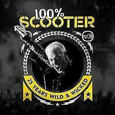 100% Scooter-25 Years Wild & Wicked (3CD-Digipak) von Scooter (2017)