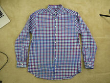 Vineyard Vines Classic Fit Tucker shirt in gingham 100% cotton size medium GUC!