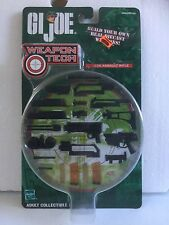 2001 Hasbro GI Joe Weapon Tech G36 Assault  Rifle Diecast Accessory Set MOSC