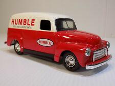 Rare Ertl B546 1951 Gmc Panel Truck Humble Oil #4 Sampler Edition Nos