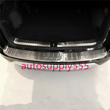 2 Pcs Stainless Steel Running Board Rear Bumper Covers For Honda CR-V 12-14 2.4L
