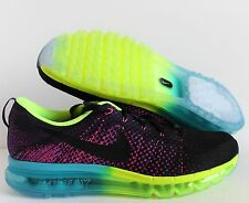 """MENS NIKE FLYKNIT MAX ID MARK PARKER HTM """"MULTI COLOR"""" SZ 13 [874783-995]"""