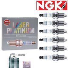 6 pcs NGK Laser Platinum Plug Spark Plugs 2009 BMW 328i xDrive 3.0L L6 Kit