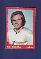 Bert Marshall 1973-74 O-PEE-CHEE Hockey #51 (EXMT+)