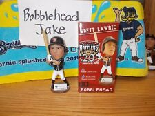 NIB 2014 BRETT LAWRIE TIMBER RATTLERS WHITE SOX BOBBLEHEAD SGA BREWERS SELECTIVE
