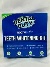 NEW Still Factory Sealed Dental Duty ToothBrite Professional LED Whitening Kit