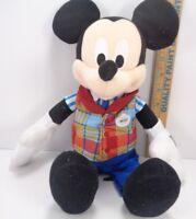 Disney Exclusive Mickey Cast Member Disney Employee 16 Inch Plush Toy