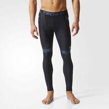 Abbiglimento sportivo da uomo neri adidas di compressione