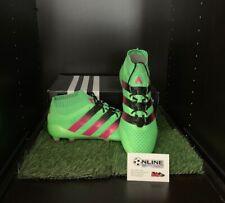 Adidas Ace 16.1 Primeknit FG/AG - Solar Green/Pink/Black UK10, US10.5, EU44(2/3)
