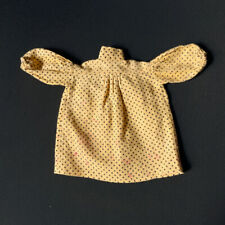 "Sindy Pop Singer 1983 yellow smock dress Pedigree 44766 fit 11"" doll 1:6 vintage"