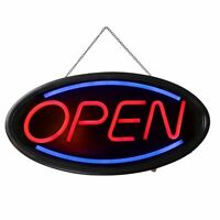 LED Bright OPEN Business Sign Shop Store Bar Cafe Blue & Red Color Neon Light