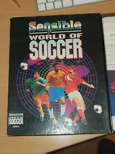 Sensible World Of Soccer - Amiga Game