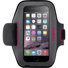 Brazaletes negros con cierre autoadherente para teléfonos móviles y PDAs Apple