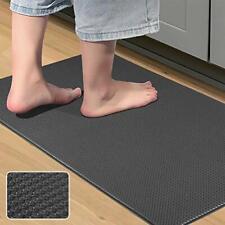 Kitchen Rug Anti-Fatigue Comfort Mat Non Slip Cushioned Comfort Standing Floor