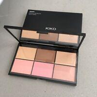 KIKO MILANO Smart Essential Face Palette 01 - Blush Bronzer Highlighter NEW