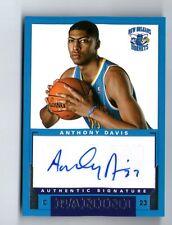 ANTHONY DAVIS 2012-13 PANINI AUTHENTIC SIGNATURES AUTO AUTOGRAPH ROOKIE RC CARD!