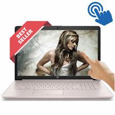 "HP 17.3"" TOUCHSCREEN Laptop 8GB Ram AMD Ryzen 3.40GHz 1TB HD DVD+RW WebCam Pink"