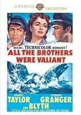 All the Brothers Were Valiant 1953 (DVD) Robert Taylor, Stewart Granger - New!